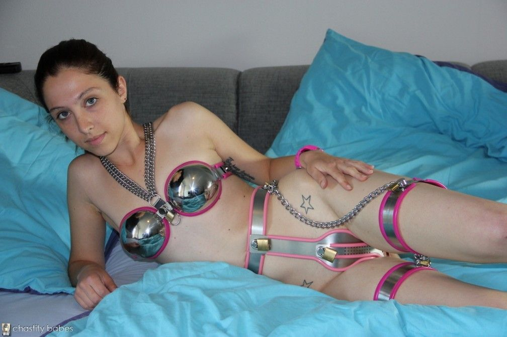 Mrs. R. reccomend female chastity belt