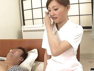 Asian nurse webcam