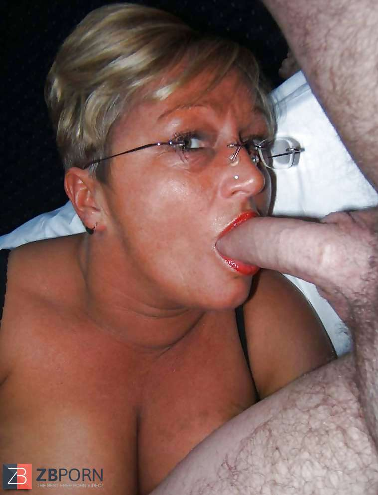 Sexy mature deep throat cock