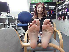 best of Petite foot fetish