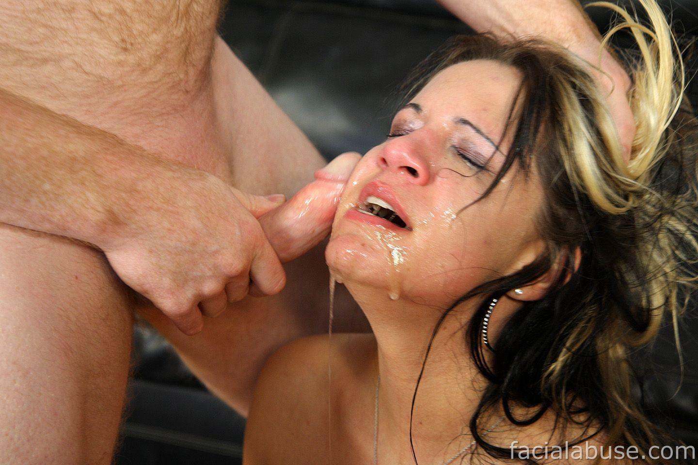 Extreme facial abuse