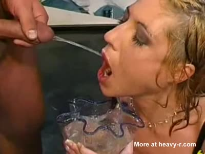 Piss drinking bukkake