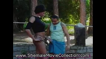 Shemale humiliated outdoor photo