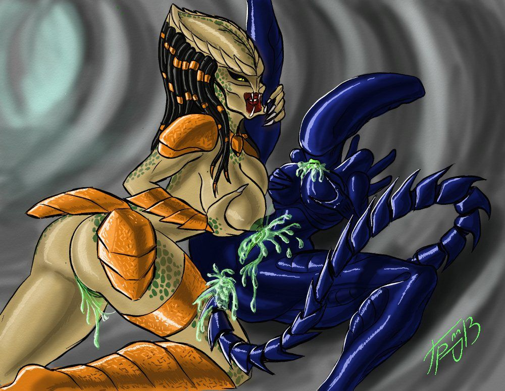 Aliens vs predator cartoon porno