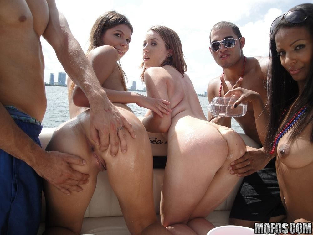 Mofos orgy group sex party