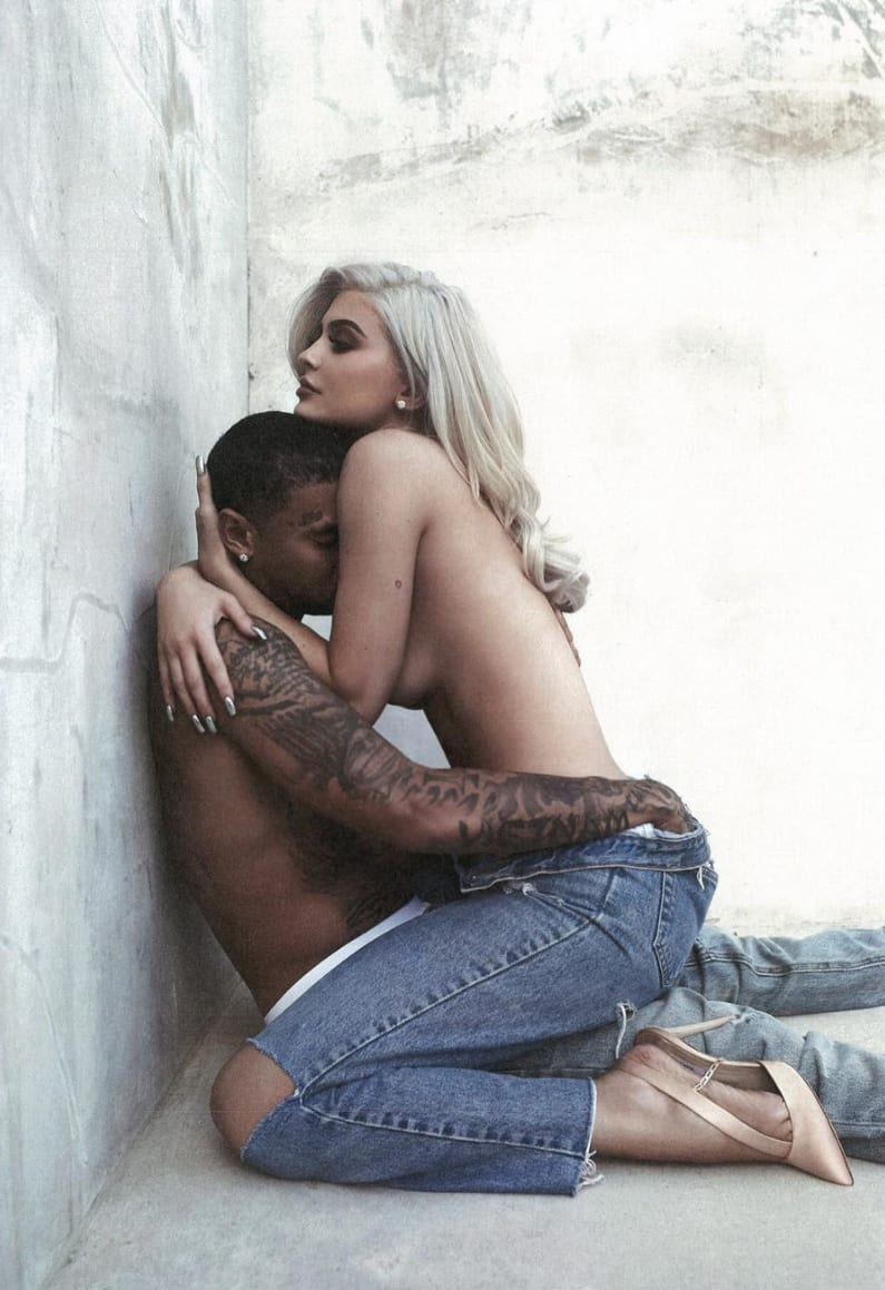 C-Brown reccomend kylie jenner tyga