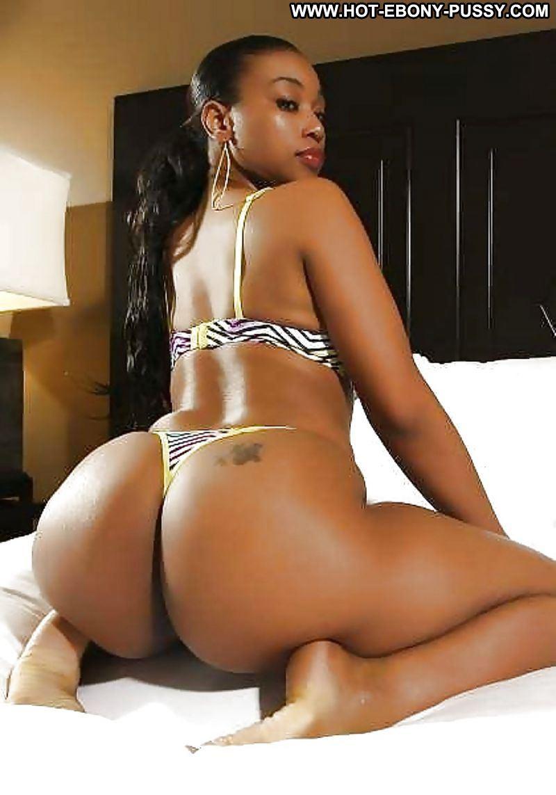 Big nude black buttocks