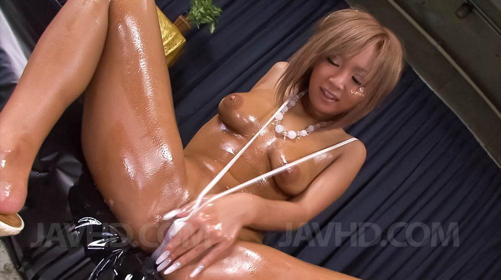 Lubed asian