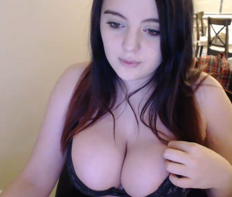 best of Her girl breast showing