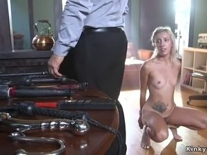 Bdsm shaved masturbate cock and anal