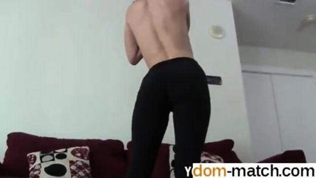 Yoga pants bondage
