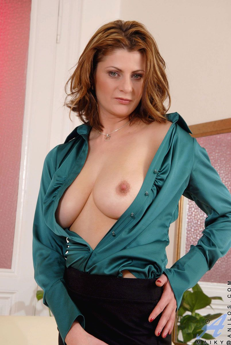 Mature professional women in skirts