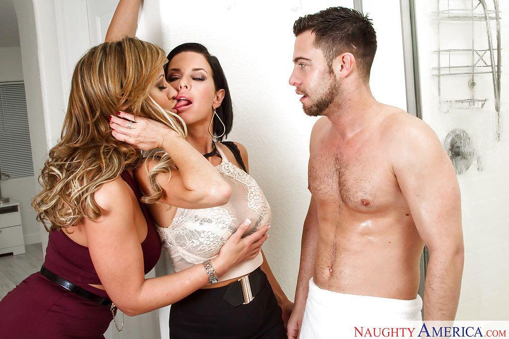 Be-Jewel recommend best of Step Mom Eva Notty, Veronica Avluv, Threesome