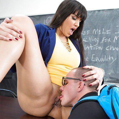 Pussy licking teacher
