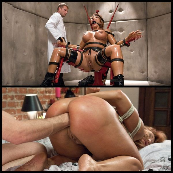 Bondage for deep anal