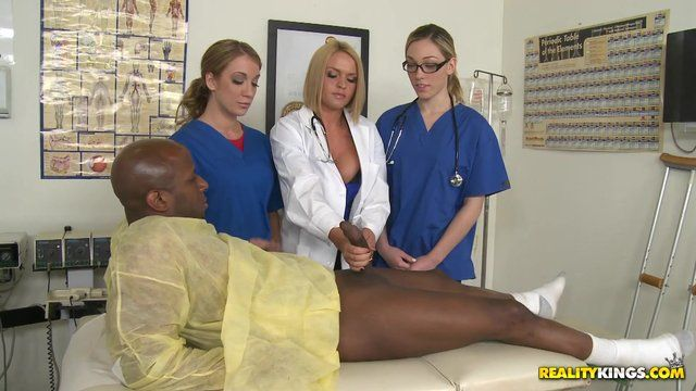 Big dick nurse