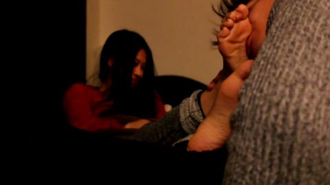 Tickling you feet