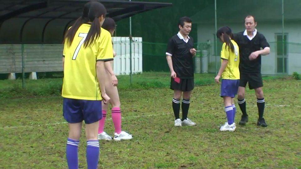 Retrograde reccomend Asian girls playing soccer