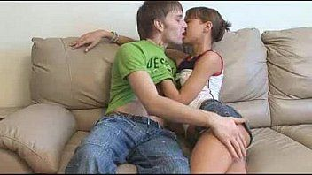 Couple making out