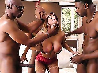 Big ass whore blowjob dick orgy
