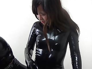 Taze reccomend japanese femdom latex
