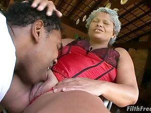 Old black xxx mature women movie MILF