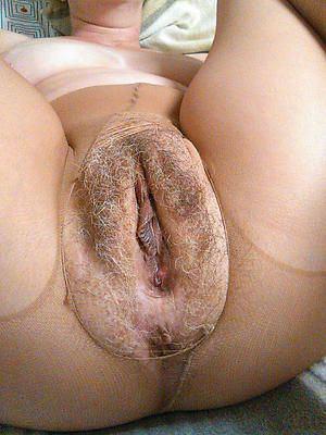 Chuck reccomend Closeup shaved mature vagina