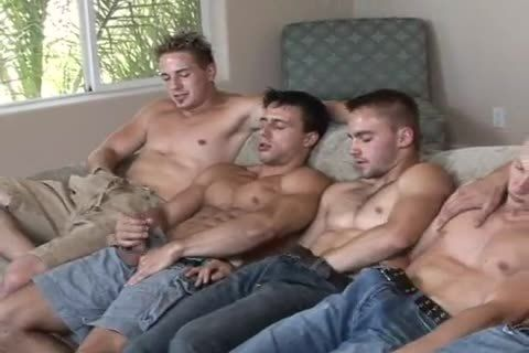 Guard reccomend Gangbang circle jerk