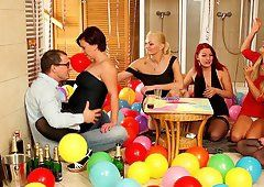 Fullback reccomend surprise birthday party orgy