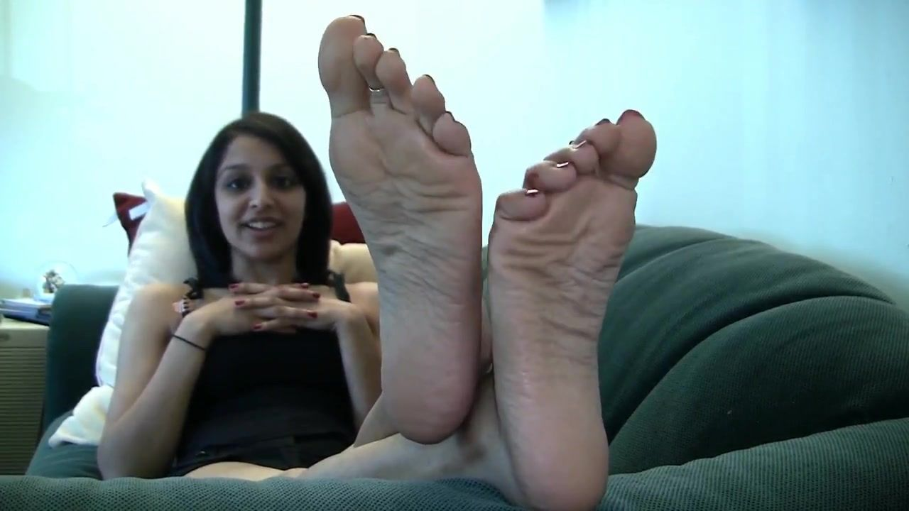 Candid indian soles