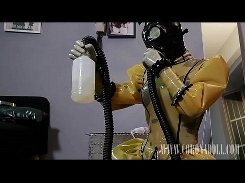Esquiare reccomend Breath control self bondage gas mask