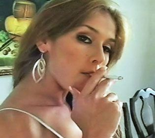 best of Smoking cigarette latina