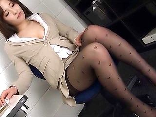 Tank recomended japanese pantyhose fuck office