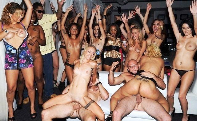 Wild swingers party fuck