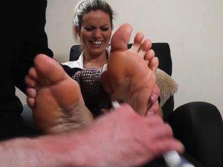 Baby D. reccomend tickling foot