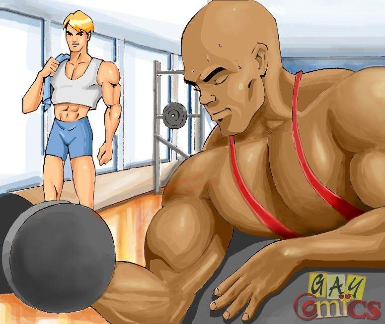 Cartoon gym