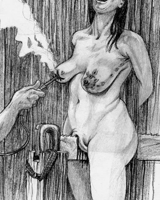 Bdsm torture artwork