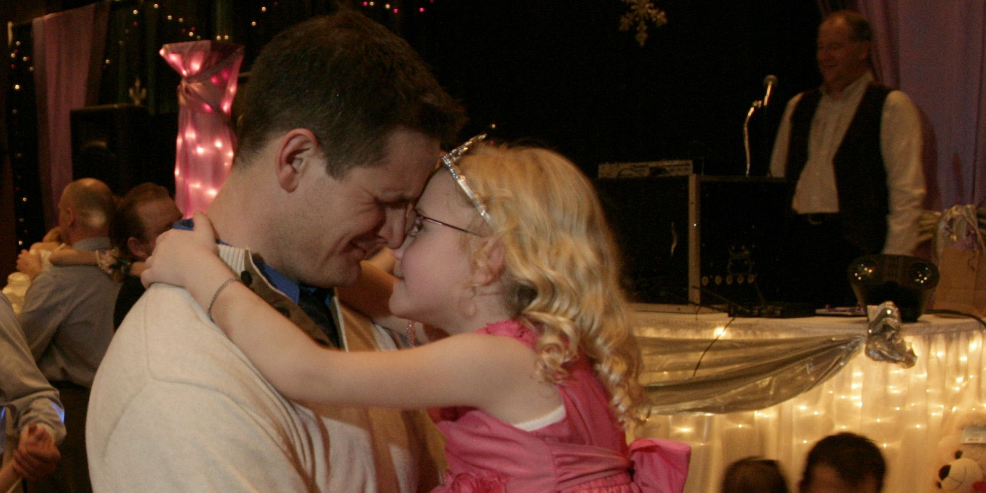 best of Daughter dad kissing