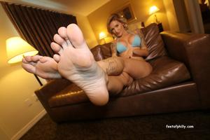 best of Footjob reagan lush