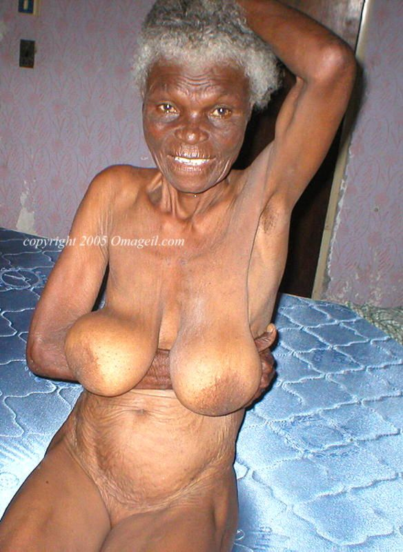 Hot ebony grannies nude
