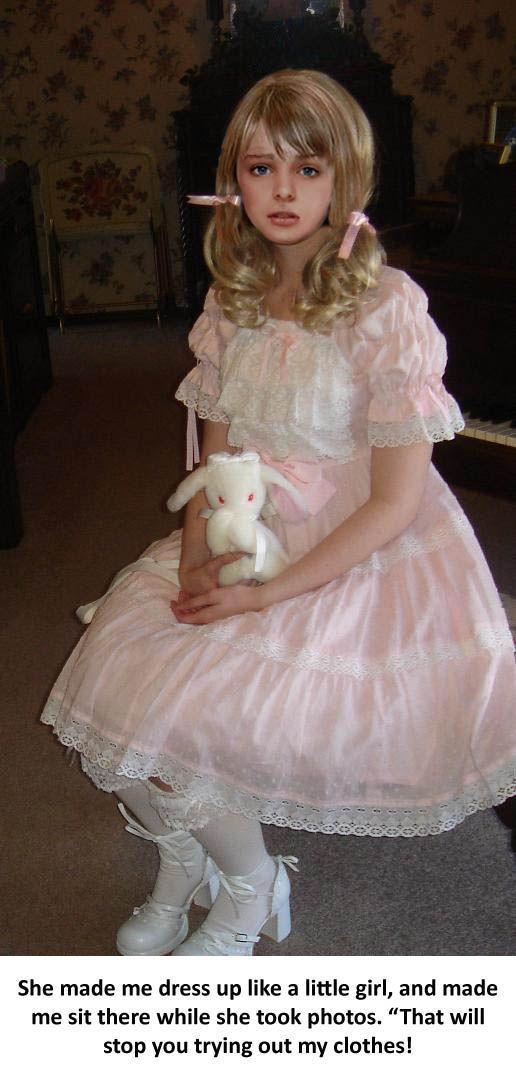 Claws reccomend Petticoat discipline dildo stories