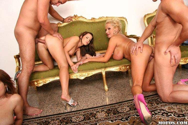 Sensual orgy