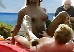 ATV reccomend hairy transgender suck penis on beach