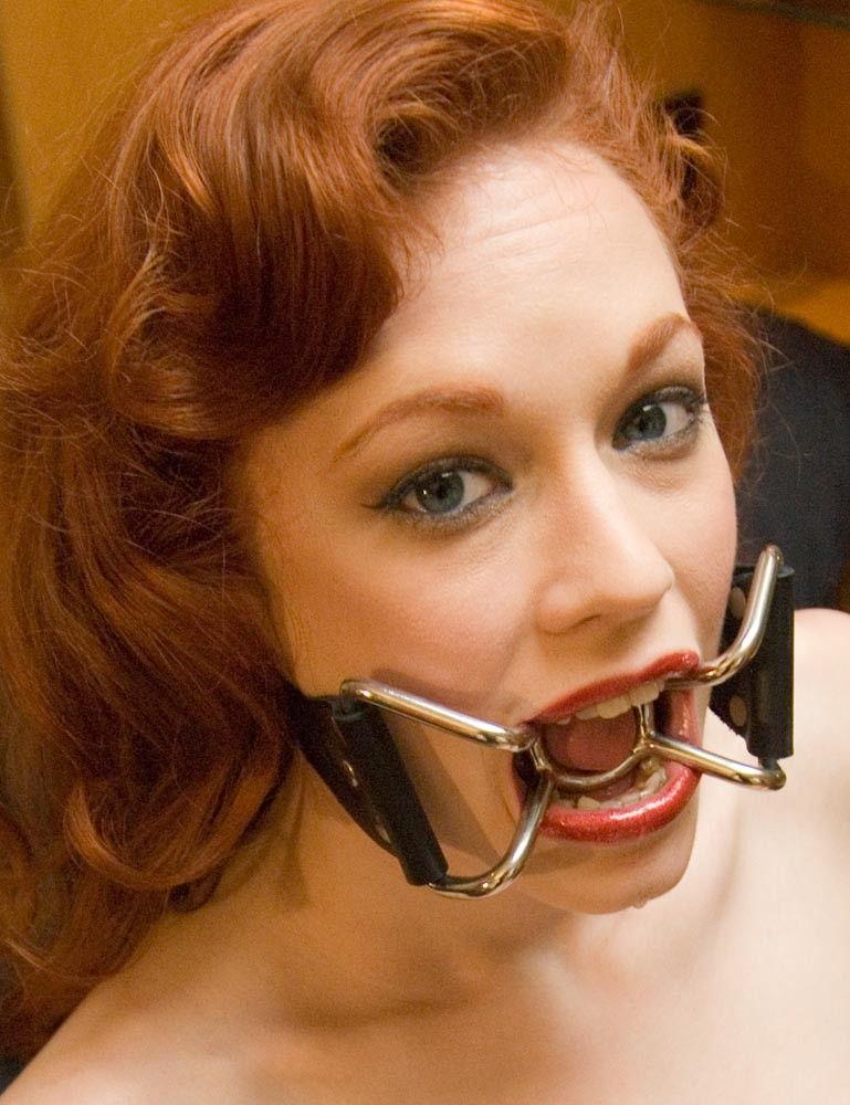Dark M. reccomend gagged drooling