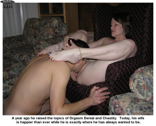Halfback recomended marriage led Femdom wife