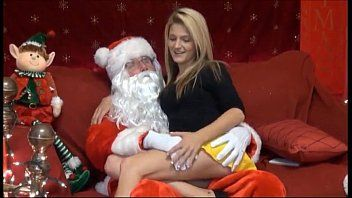 Mrs claus getting fucked by santa