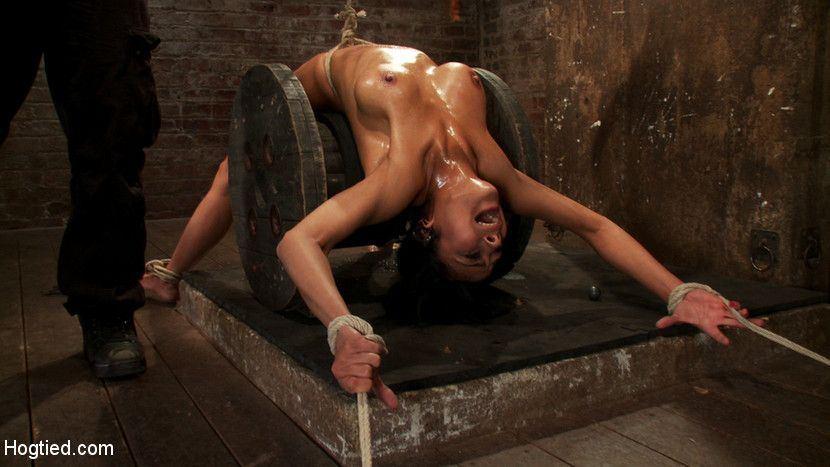 Extreme bondage and torture