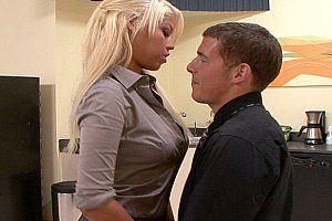 Wife flirting at work