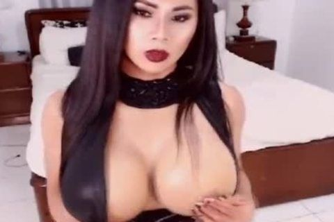 Big boobs thai masturbate penis and anal