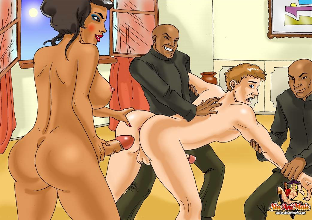 Free shemale sex toon